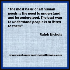 Listening Quote - Ralph Nichols