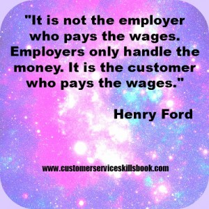 Customer Service Quote - Henry Ford