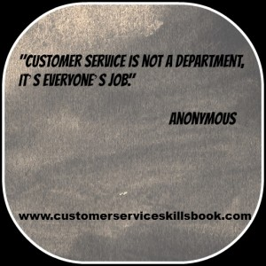 Customer Service Quote - Anonymous