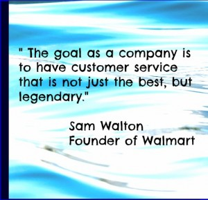 Customer Service Quote - Sam Walton