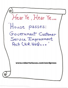 U.S. House passes federal 'customer service' bill