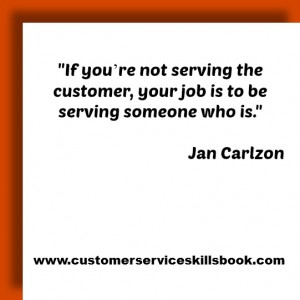 Quote on Internal Customer Service - Jan Carlzon