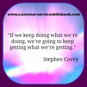 Process Improvement Quote - Stephen Covey