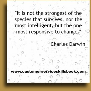 Quote on Change - Charles Darwin