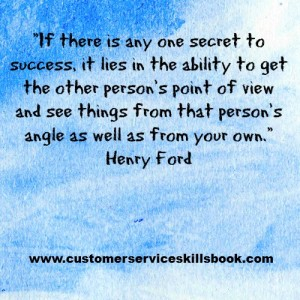 Customer Service Communication Quote - Henry Ford