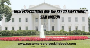 Customer Service Inspirational Quote - Sam Walton