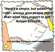 Customer Service Quote - Nelson Boswell