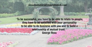 Effective Customer Communication Quote - George Ross
