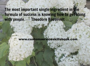 Interpersonal Communication Quote - Theodore Roosevelt