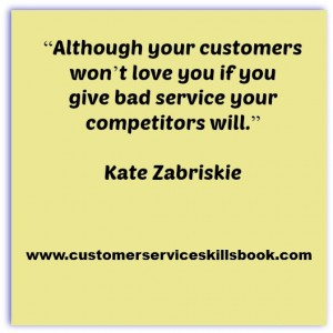 Customer Service Quote - Kate Zabriskie