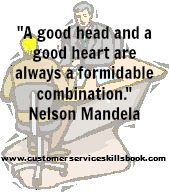 Inspirational Customer Relationships Quote - Nelson Mandela