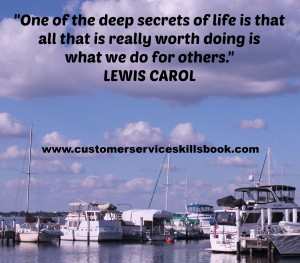 Customer Service Quote - Lewis Carol