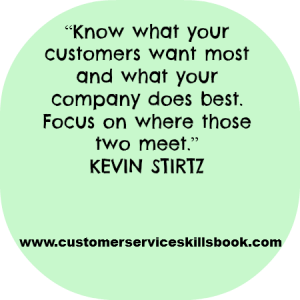 Inspirational Customer Service Quote - Kevin Stirtz