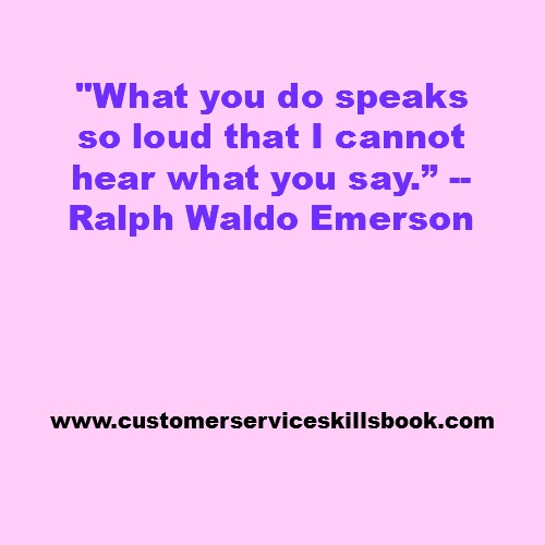 Nonverbal Communication Quote - Ralph Waldo Emerson