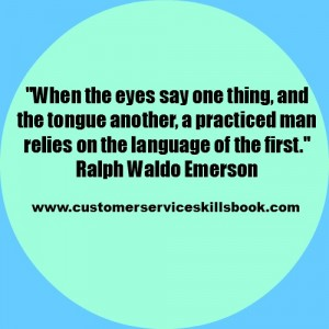 Non Verbal Communication Quote - Ralph Waldo Emerson